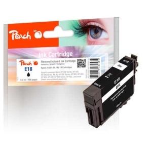 Peach  Tintenpatrone schwarz kompatibel zu Hersteller-ID: No. 18, T1801 Tinte