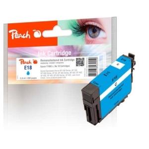 Peach  Tintenpatrone cyan kompatibel zu Hersteller-ID: No. 18 c, T1802 Toner