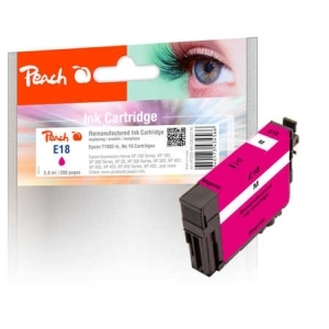 Peach  Tintenpatrone magenta kompatibel zu Hersteller-ID: No. 18 m, T1803 Druckerpatronen