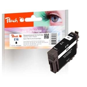 Peach  Tintenpatrone schwarz kompatibel zu Hersteller-ID: No. 16, T1621 Tinte