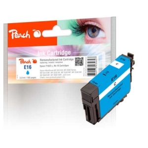 Peach  Tintenpatrone cyan kompatibel zu Hersteller-ID: No. 16 c, T1622 Tinte