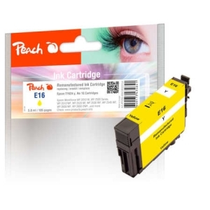 Peach  Tintenpatrone gelb, kompatibel zu Hersteller-ID: No. 16 y, T1624 Toner