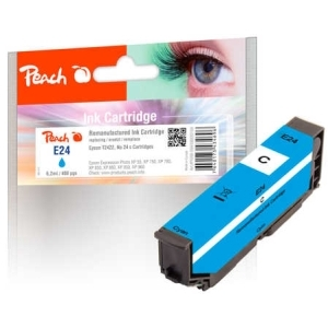 Peach  Tintenpatrone cyan kompatibel zu Hersteller-ID: No. 24 c, T2422 Toner