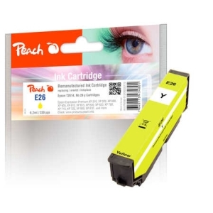 Peach  Tintenpatrone gelb kompatibel zu Hersteller-ID: No. 26 y, T2614 Druckerpatronen