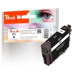 Peach  Tintenpatrone schwarz kompatibel zu Hersteller-ID: No. 27 bk, T2701 Tinte