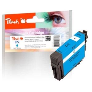 Peach  Tintenpatrone cyan kompatibel zu Hersteller-ID: No. 27 c, T2702 Druckerpatronen