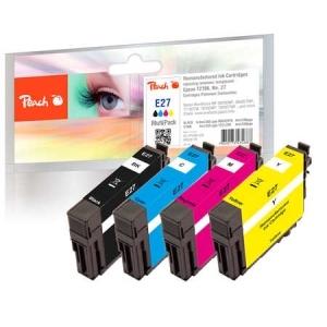 Peach  Spar Pack Tintenpatronen kompatibel zu Hersteller-ID: No. 27, T2706 Druckerpatronen