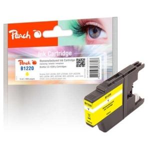 Peach  Tintenpatrone gelb kompatibel zu Hersteller-ID: LC-1220Y Druckerpatronen