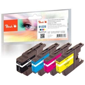 Peach  Spar Pack Tintenpatronen kompatibel zu Hersteller-ID: LC-1220 Druckerpatronen