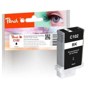 Peach  XL-Tintenpatrone schwarz kompatibel zu Toner