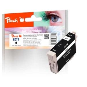 Peach  Tintenpatrone schwarz kompatibel zu Hersteller-ID: T0791 Druckerpatronen