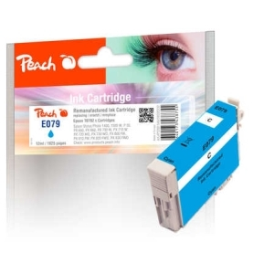 Peach  Tintenpatrone cyan kompatibel zu Hersteller-ID: T0792 Tinte