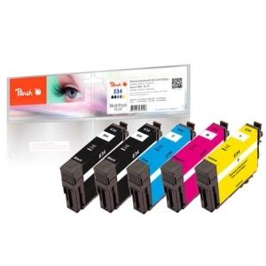 Peach  Spar Pack Plus Tintenpatronen kompatibel zu Hersteller-ID: No. 34 Toner