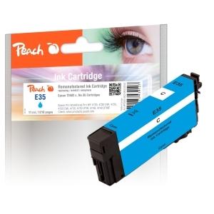 Peach  Tintenpatrone cyan kompatibel zu Hersteller-ID: No. 35 c, T3582 Tinte
