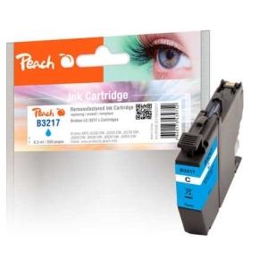 Peach  Tintenpatrone cyan kompatibel zu Hersteller-ID: LC-3217C Tinte