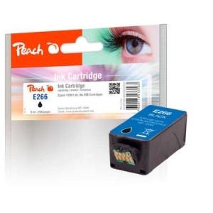 Peach  Tintenpatrone schwarz kompatibel zu Hersteller-ID: No. 266, T2661 Toner