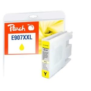 Peach  Tintenpatrone XXL gelb kompatibel zu Hersteller-ID: No. 907XXL, T9074 Toner