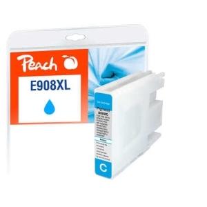 Peach  Tintenpatrone XL cyan kompatibel zu Hersteller-ID: No. 908XL, T9082 Tinte