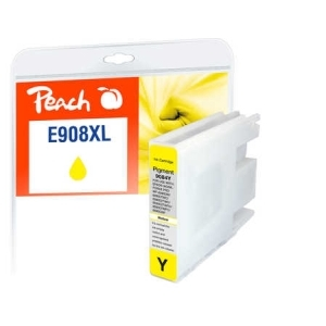 Peach  Tintenpatrone XL gelb kompatibel zu Hersteller-ID: No. 908, T9084 Toner