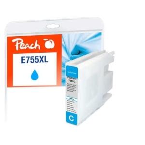Peach  Tintenpatrone XL cyan kompatibel zu Hersteller-ID: T7552, No. 755XL Toner