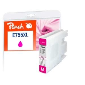Peach  Tintenpatrone XL magenta kompatibel zu Hersteller-ID: T7553, No. 755XL Tinte