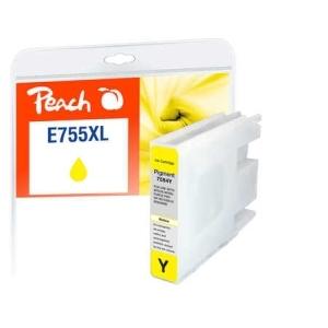 Peach  Tintenpatrone XL gelb kompatibel zu Hersteller-ID: T7554, No. 755XL Toner