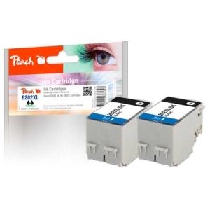 Peach  Doppelpack Tintenpatronen schwarz kompatibel zu Hersteller-ID: No. 202XL T02G1*2 Toner