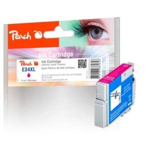 Peach  Tintenpatrone XL magenta kompatibel zu Hersteller-ID: No. 34XL, T3473 m Tinte