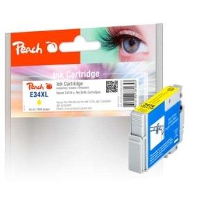 Peach  Tintenpatrone XL gelb kompatibel zu Hersteller-ID: No. 34XL, T3474 y Toner