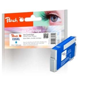 Peach  Tintenpatrone XL cyan kompatibel zu Hersteller-ID: No. 35XL c, T3592 Tinte