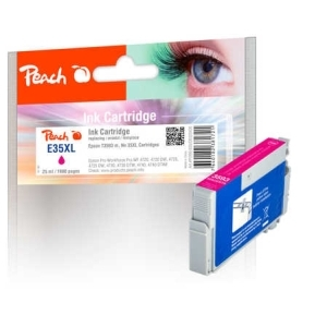 Peach  Tintenpatrone XL magenta kompatibel zu Hersteller-ID: No. 35XL m, T3593 Druckerpatronen