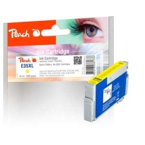 Peach  Tintenpatrone XL gelb kompatibel zu Hersteller-ID: No. 35XL y, T3594 Toner