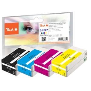 Peach  Spar Pack Tintenpatronen kompatibel zu Toner