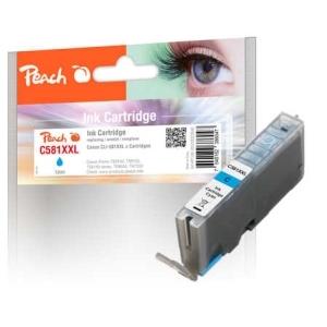 Original Peach Tintenpatrone XL cyan kompatibel zu Druckerpatronen