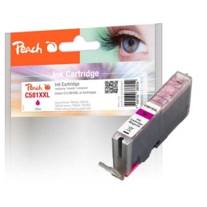 Original Peach Tintenpatrone XL magenta kompatibel zu Tinte