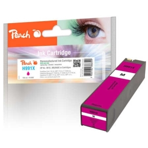 Original Peach Tintenpatrone magenta extra HC kompatibel zu Hersteller-ID: No. 991X, M0J94AE Tinte