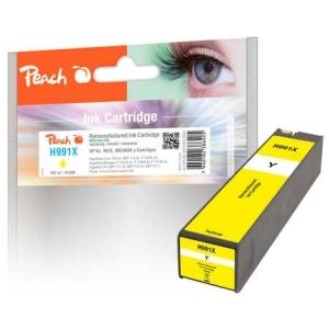 Original Peach Tintenpatrone gelb extra HC kompatibel zu Hersteller-ID: No. 991X, M0J98AE Druckerpatronen