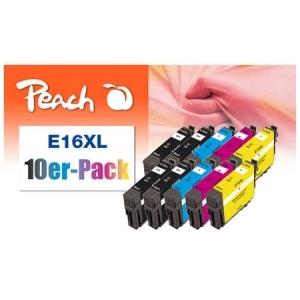 Peach  10er-Pack Tintenpatronen, kompatibel zu Hersteller-ID:  Tinte