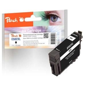 Peach  Tintenpatrone schwarz kompatibel zu Hersteller-ID: T02W1, No. 502XL bk Tinte