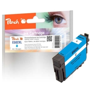 Peach  Tintenpatrone cyan kompatibel zu Hersteller-ID: T02W2, No. 502XL c Toner