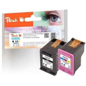 Peach  Spar Pack Druckköpfe kompatibel zu Hersteller-ID: No. 303XL Toner