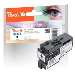Peach  Tintenpatrone schwarz kompatibel zu Toner