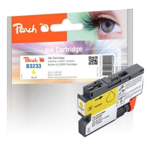 Peach  Tintenpatrone gelb kompatibel zu Toner