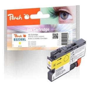 Peach  Tintenpatrone gelb XL, kompatibel zu Toner